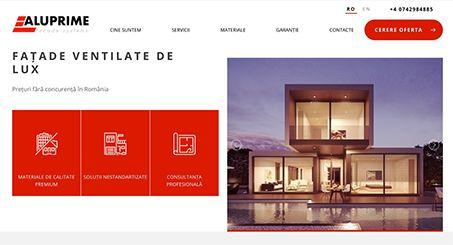 Website for Euroline-Construct